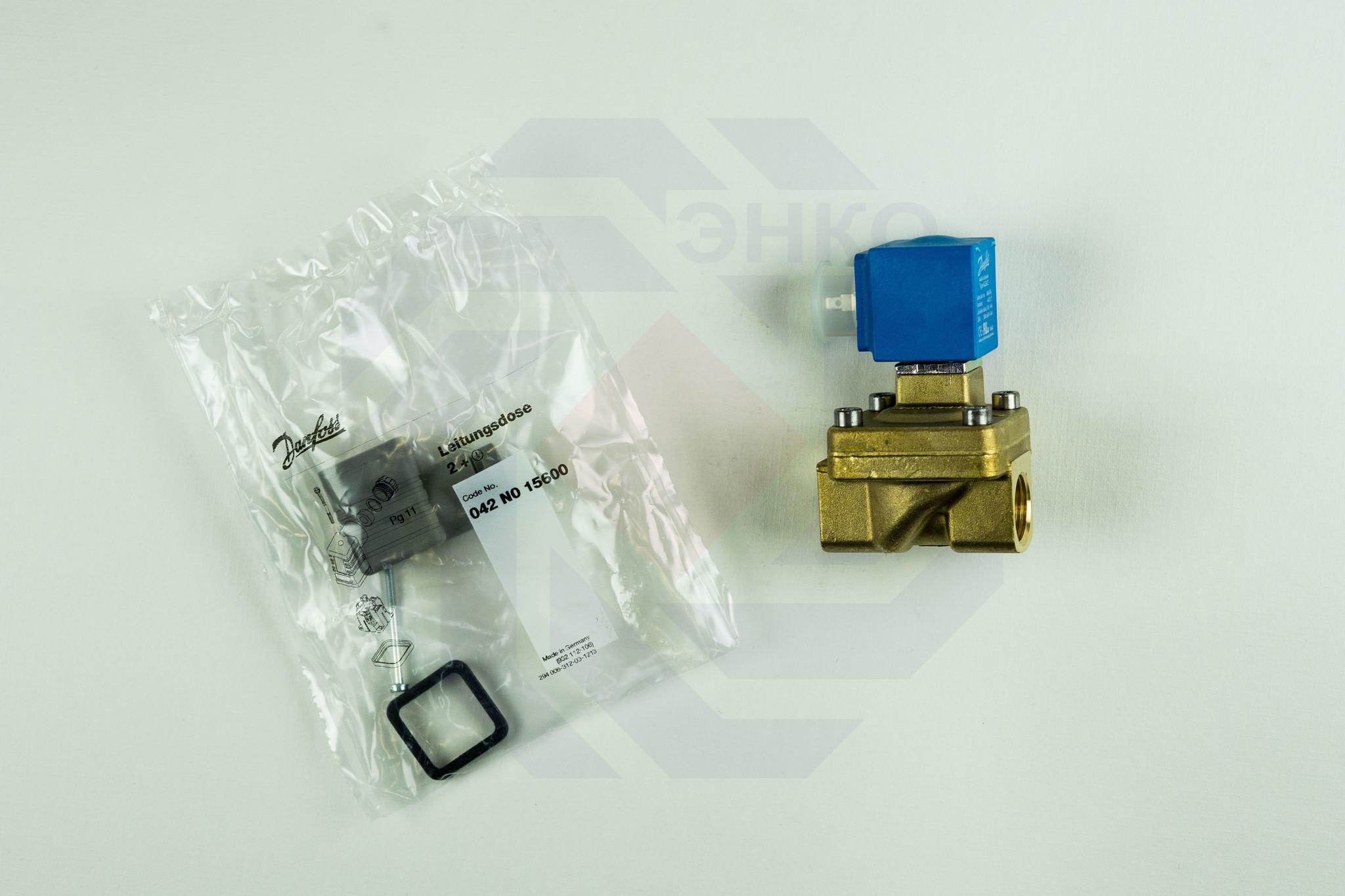 Клапан соленоидный DANFOSS EV220W 14 1½