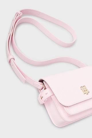 Женская розовая сумка через плечо SOFT MINI Tommy Hilfiger