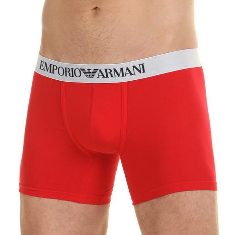 Мужские трусы боксеры красные Emporio Armani