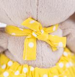 Зайка Ми в желтом комбинезоне с ромашкой (малая)