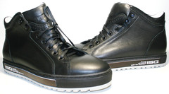 Ботинки мужские кожаные демисезонные