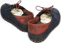 Летние мужские туфли под джинсы Luciano Bellini 23406-00 LNBN.