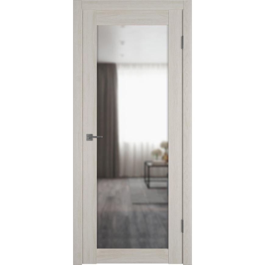 Двери с зеркалом Межкомнатная дверь экошпон VFD 32X scansom oak с зеркалом с одной стороны atumpro-X32-scansom-oak-reflex-dvertsov.jpg