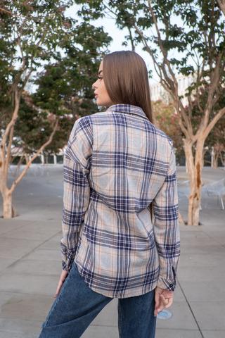 Клетчатая рубашка из фланели интернет магазин