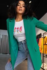 Пиджак однобортный деловой женский Nadya