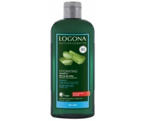 Шампунь для увлажнения волос с Био-Алоэ Вера 250 мл (Logona)