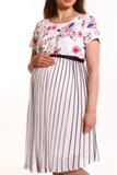 Платье для беременных 07563 белый