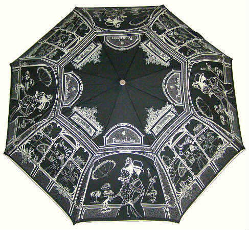 Зонт складной Guy de Jean 3496-bl Boutique