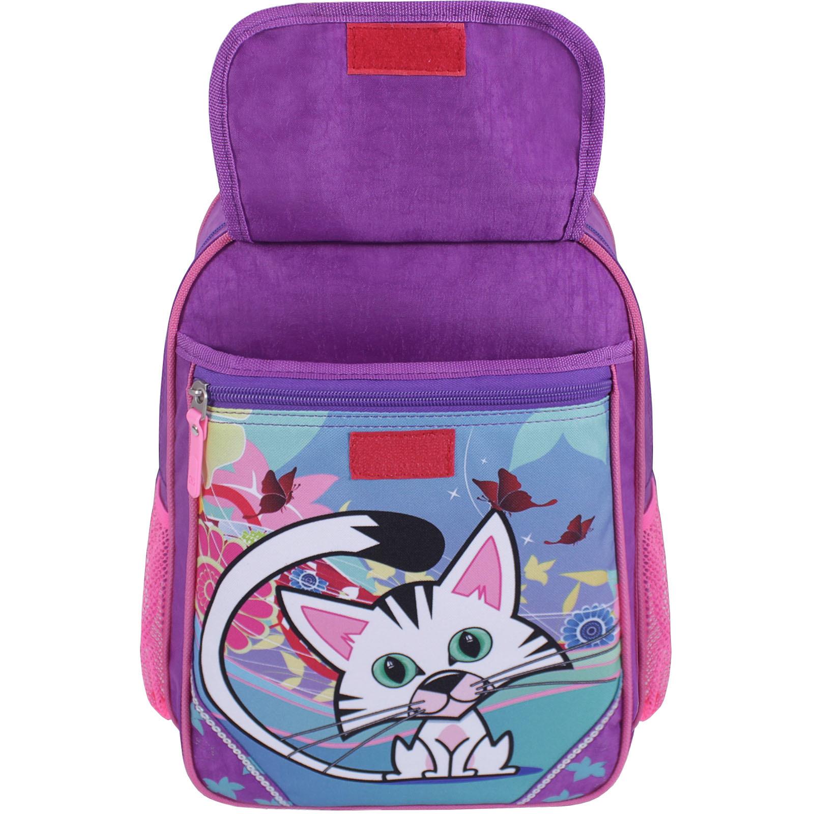 Рюкзак школьный Bagland Отличник 20 л. 339 фиолетовый 502 (0058070) фото 4