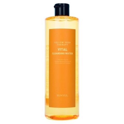 Мицеллярная вода витаминизирующая с экстрактами цитрусовых Eunyul Yellow Seed Therapy Vital Cleansing Water 500мл