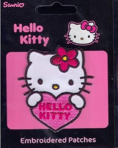 Аппликация Kitty с сердечком 14255