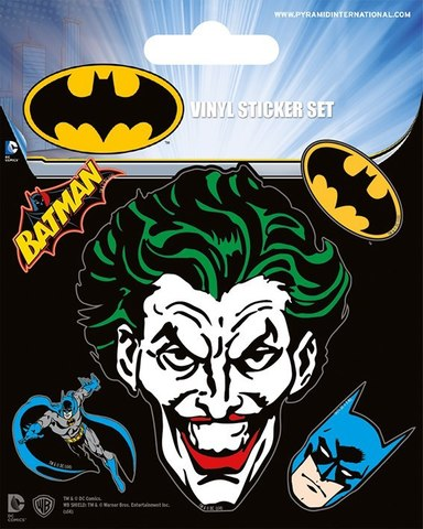Набор стикеров Batman
