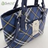 Сумка Саломея 457 шотландский синий