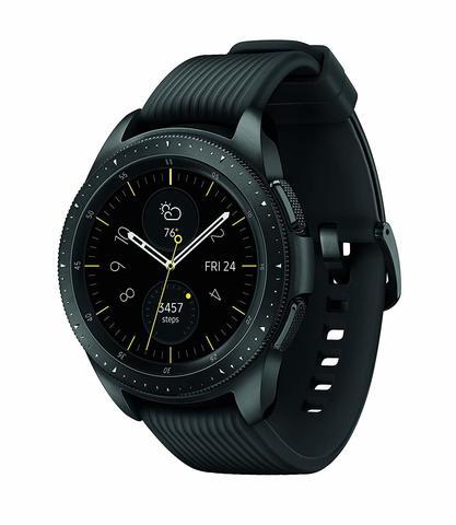 Часы Samsung Galaxy Watch (42 mm) Midnight Black (Черные)