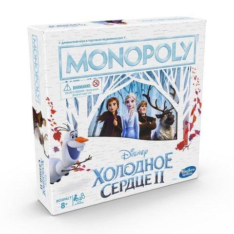 Hasbro: Настольная игра Монополия Холодное сердце II E5066 —  Frozen 2 Edition Board Game — Хасбро