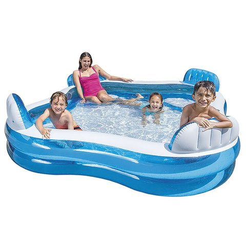 Hovuz \ Бассейн \ Pool Детский надувной бассейн 229х229х66см