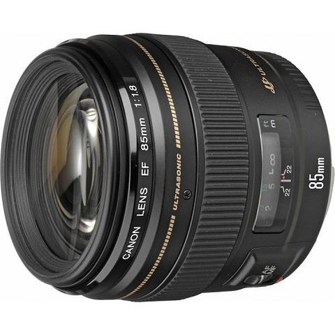 Объектив Canon EF 85mm f/1.8 USM Black для Canon