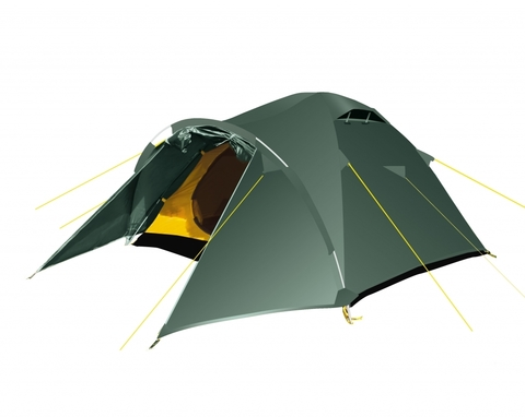 Палатка Challenge 2 , Зеленый
