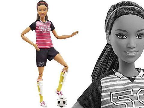 Барби Футболистка (Брюнетка) Магия кукол