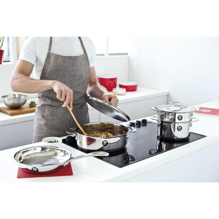 Сковорода-гриль антипригарная CHEF (26,5х26,5 см)