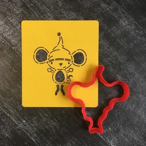 Мышка №20 с большими ушами