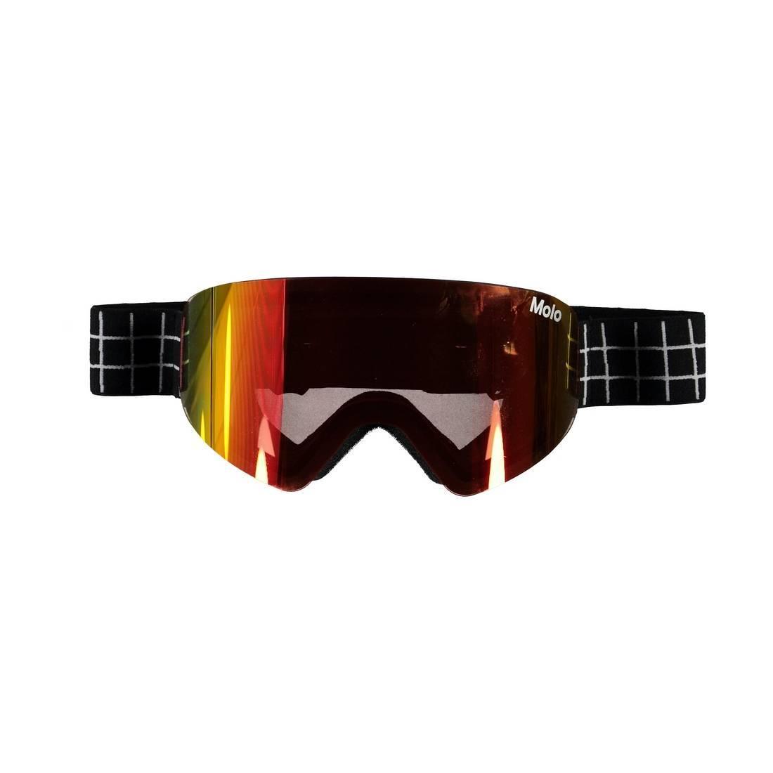 Горнолыжные очки Molo Falcon Gold Rainbow