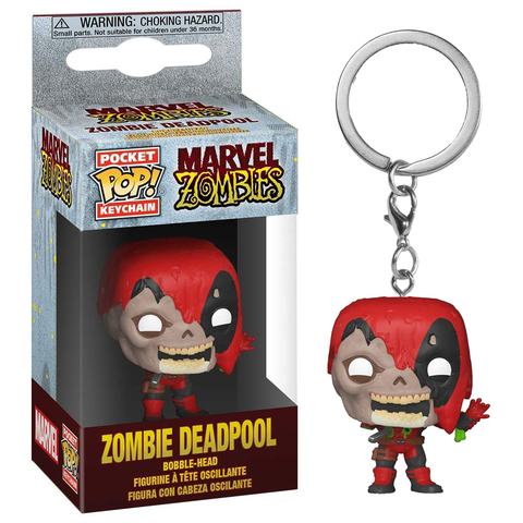 Брелок Funko POP! Keychain Marvel Zombie: Deadpool