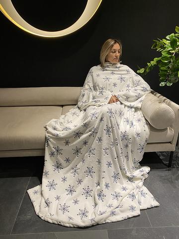 Плед с рукавами Gekoko Premium «Снежная Королева»-2