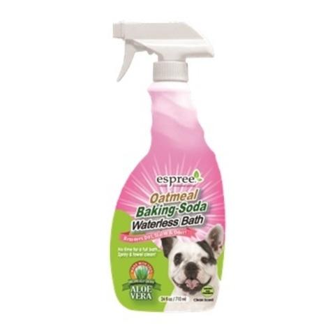 Средство для очищения шерсти собак, 710 мл  Oatmeal Baking Soda Waterless Bath 24oz (ESP01617 )