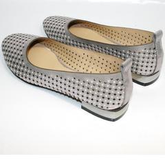 Летняя обувь балетки Kluchini 5219 k 365Titan.
