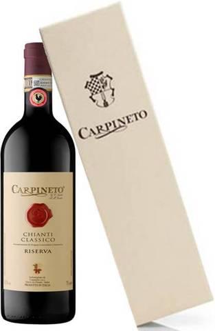 Carpineto Chianti Classico Riserva DOCG in wooden case