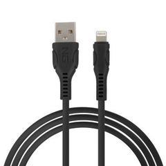 NEW GALAXY Кабель для зарядки телефона MIX, штекер, IP/microUSB/TYPE-C, 1.5М, 2.4А