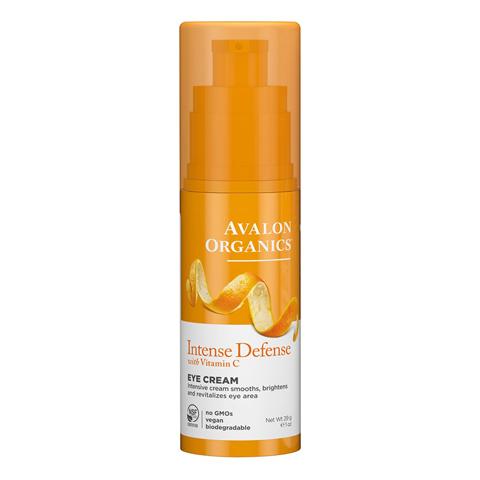 Avalon Organics Vitamin C: Крем для кожи вокруг глаз с витамином С (Intense Defense With Vitamin C Eye Cream), 29г