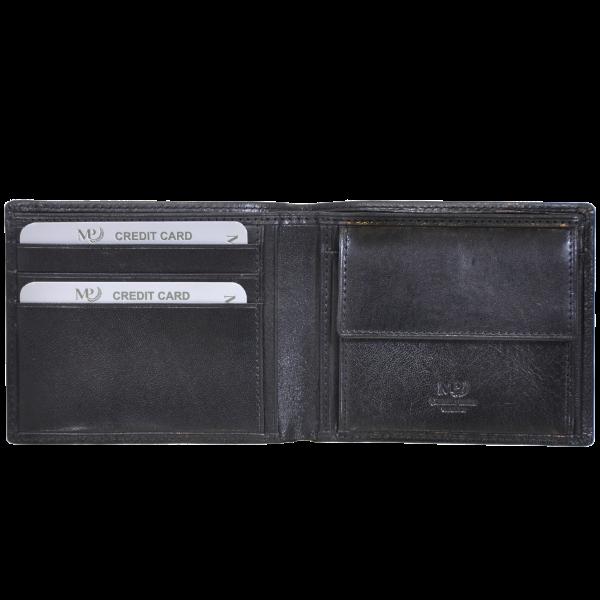 B120200R Preto - Портмоне MP с RFID защитой