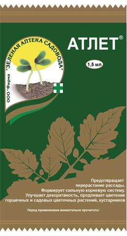 Регулятор роста растений АТЛЕТ