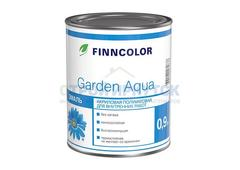 Эмаль акриловая Finncolor Garden Aqua, основа A, 2,7л