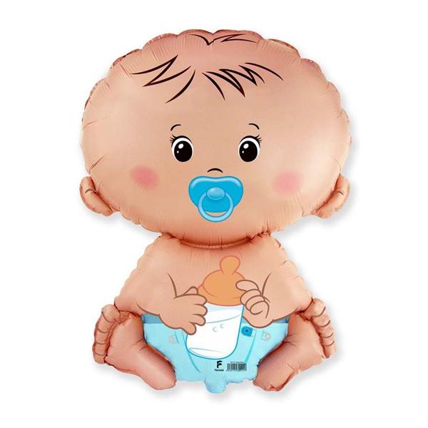 Фольгированный шар Малыш 32