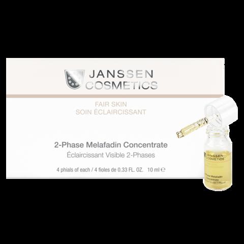 JANSSEN   Двухфазный осветляющий комплекс / 2-Phase Melafadin Concentrate, (4*10 мл)