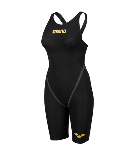 НОВИНКА 2020!!! Стартовый костюм ARENA Women's Powerskin Carbon - Core FX Open Back - FINA approved black/gold ПОД ЗАКАЗ
