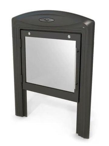 Дверца с рамкой Витра NEW (антрацит)