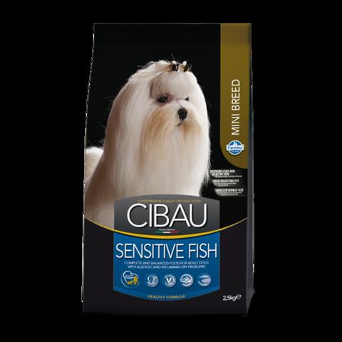 Farmina Cibau Sensitive Fish Mini Сухой корм для собак мелких пород с Рыбой
