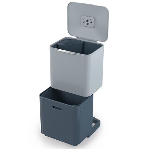 Контейнер для мусора с двумя баками Totem Max Sky 60 л