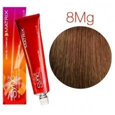 Matrix Color Sync: Mocha Gold 8MG светлый блондин мокка Золотистый, крем-краска без аммиака, 90мл