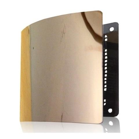 Решетка на магнитах Родфер РД-140 Медь с декоративной панелью 140х140 мм