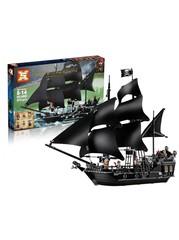 Конструктор Пираты Карибского моря 6002 Черная жемчужина 875 дет