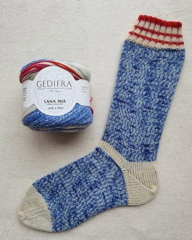 Gedifra Lana Mia One for Two 1451 купить www.knit-socks.ru