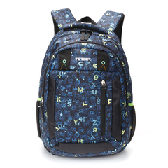 Рюкзак Torber Class X 15,6'', темно-синий с рисунком