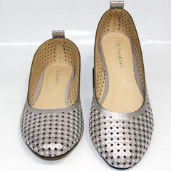 Туфли балетки женские Kluchini 5219 k 365Titan.