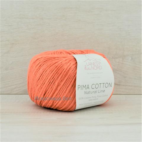 Пряжа Pima Cotton (Пима коттон) Оранжевый