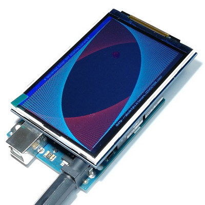 3.5 TFT LCD дисплей Ultra HD 320X480 для UNO, MEGA (без сенсора)